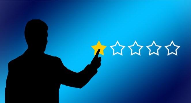 Crítica, Escreva uma crítica, Revisão, Estrela, Mão, Dedo