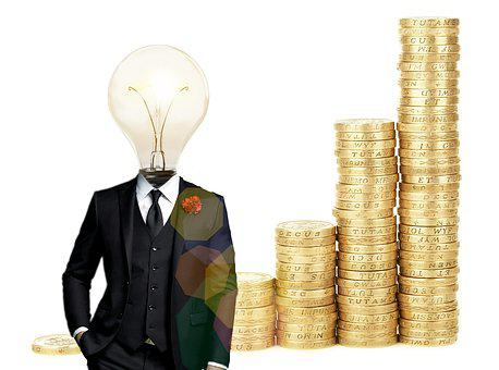Bitcoin, Financial, Idea, Lightbulb