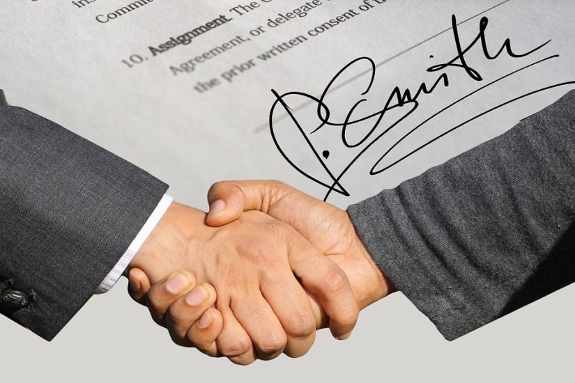 acordo, contrato
