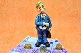 Geld, Reichtum, 500, Euro, Währung und Kreditauszahlung.