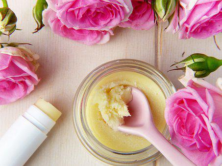 DIY lip balm as part of a personal care routine