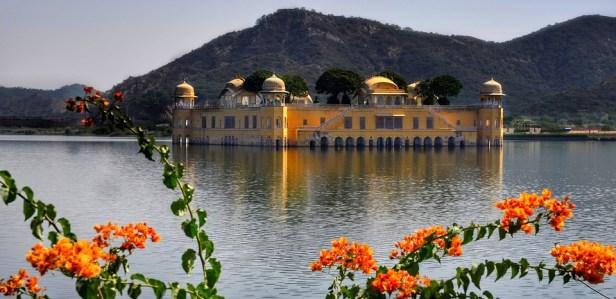 Water, Palace, Jal Mahal, Jaipur, Rajasthan, India