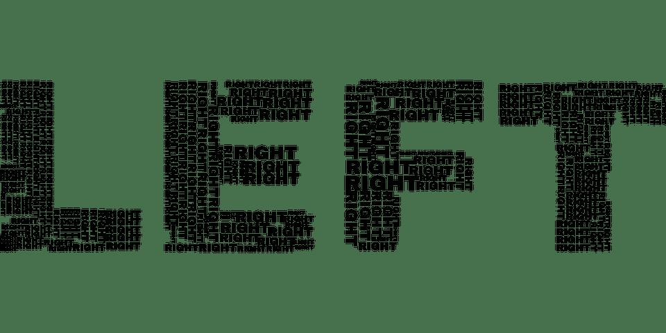 Recht Links Politiek - Gratis vectorafbeelding op Pixabay
