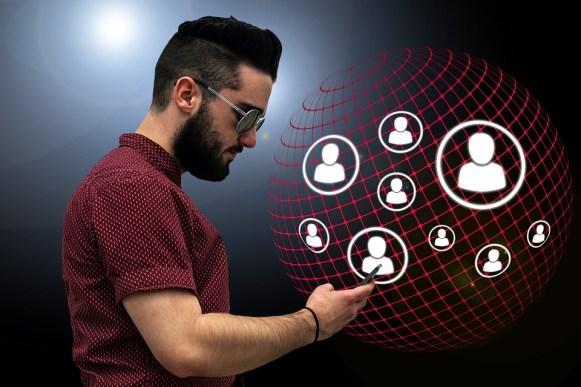 Amis, Structure, Internet, Réseau, Contact, Social