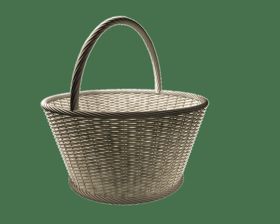 バスケット, 籐のバスケット, 枝編み細工品, Osterkorb, ウェア バスケット, 織り方, 不織布