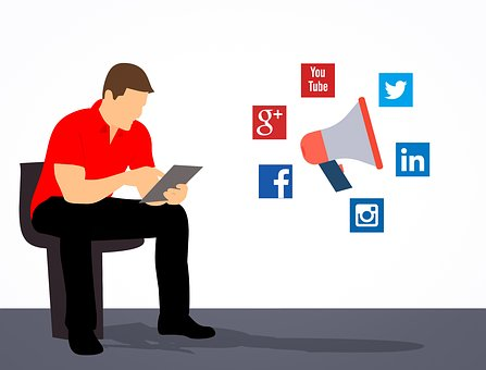 what is social media used for in business