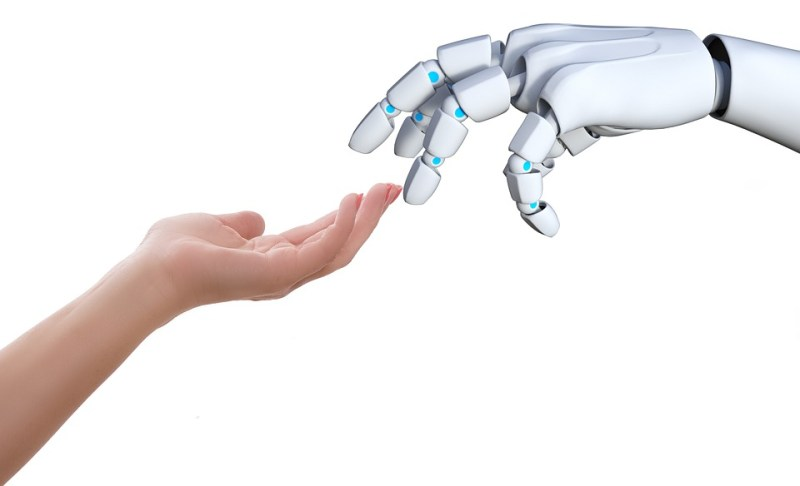 Hand, Human, Robot, Touch, Gesture, Communication