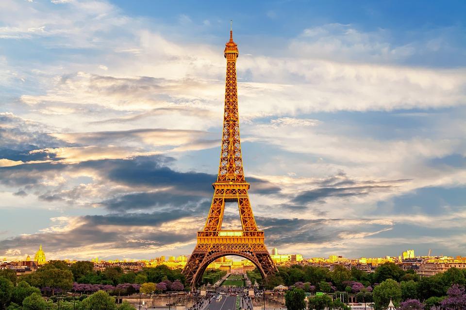Eiffel Tower, Paris, France, Travel, Tower