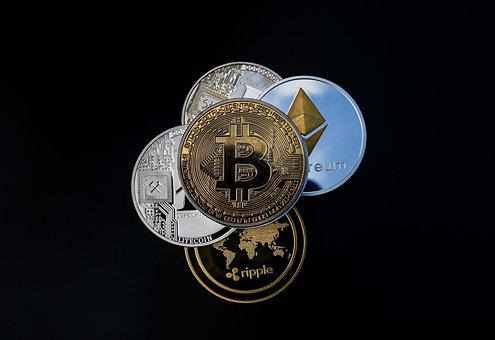 Cryptocurrency, Coin, Blockchain, Money