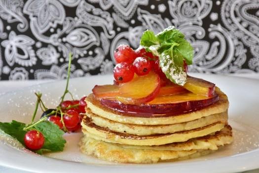 Frittella, Miele, Frutta, Albicocche, Ribes