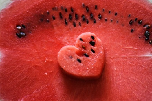 Cuore, Anguria, Red, Frutta, Estate, Fresco, Sweet