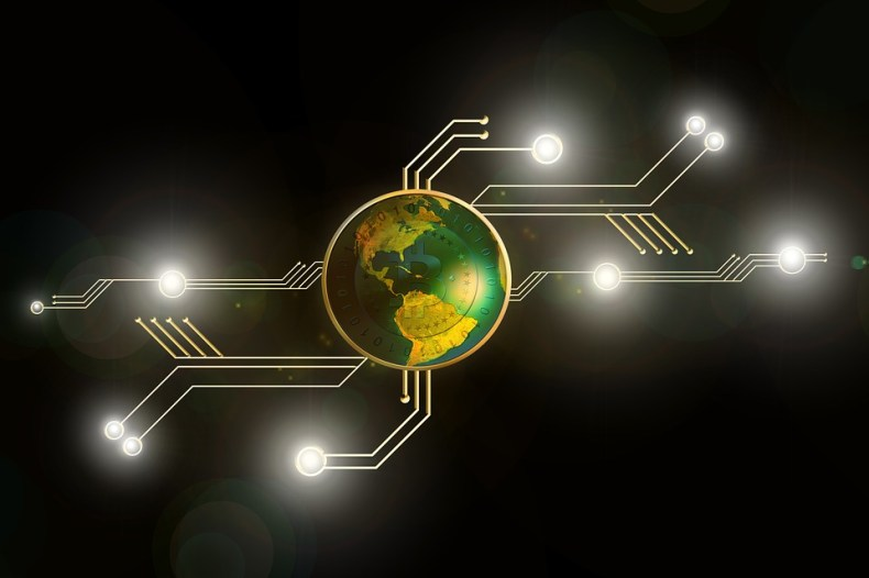 Crypto, Bitcoin, Geld, Elektronische, Valuta, Internet