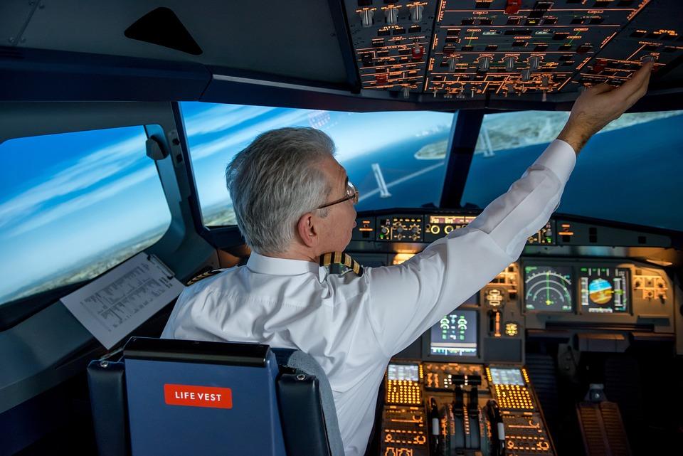 ニューヨーク, 飛行, 航空機, 自由, 市, アメリカ, マンハッタン, 航空, ジェット, コックピット