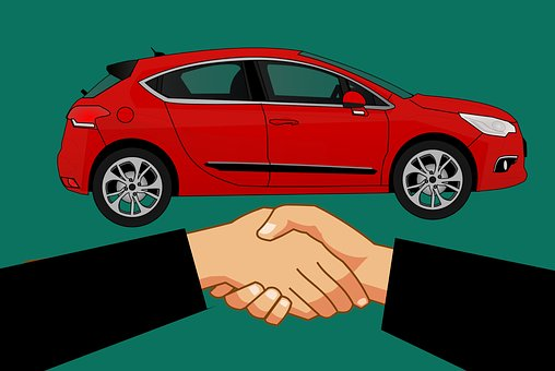 Shake Hand, Buy, Car, Deal, Automotive