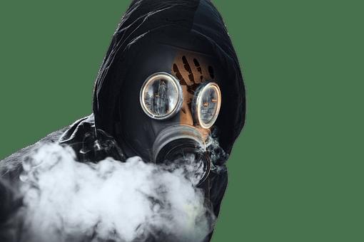 Máscara, Máscara De Gas, Tóxico