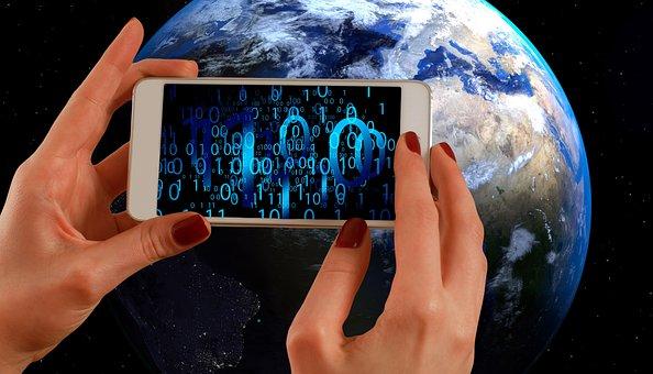Binär, Binärcode, Smartphone, Fotografie