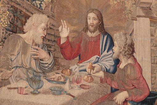 Dinner, Jesus, Emmaus, Eucharist