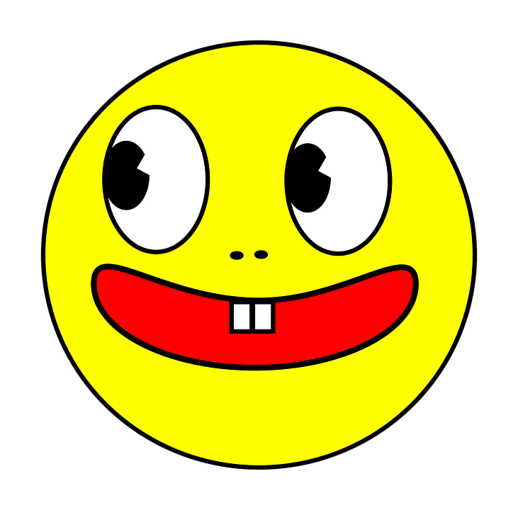 Smiling Face Cartoon Free Vector Graphic On Pixabay