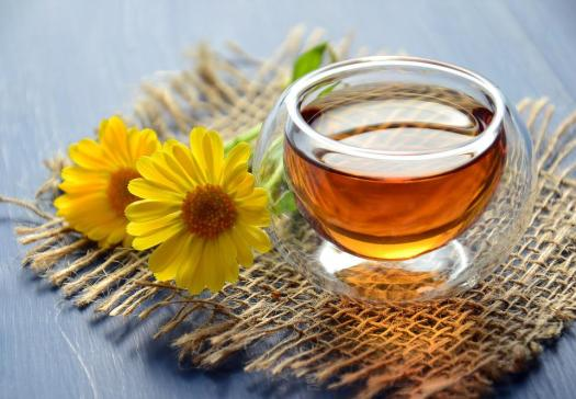 Tè, Tisana, Bere, Drink, Caldo, Utile, Пиала, Calendula