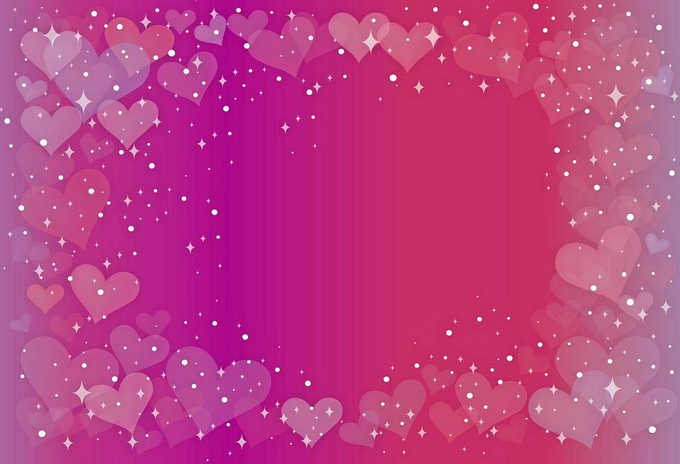 Valentine Background Bokeh Hearts Free Image On Pixabay
