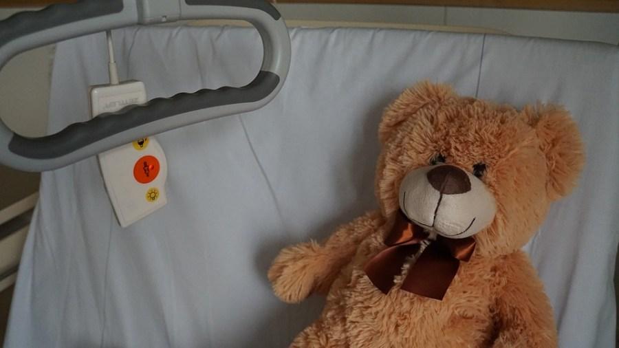 Ziekenhuis, Teddy, Ziek, Bed, Mitbringsel, Pep-Talk