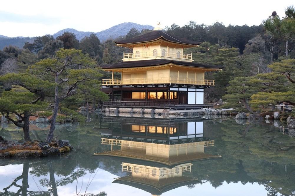 Japan, Asia, Kyoto, Kinkakuji Temple, Travel