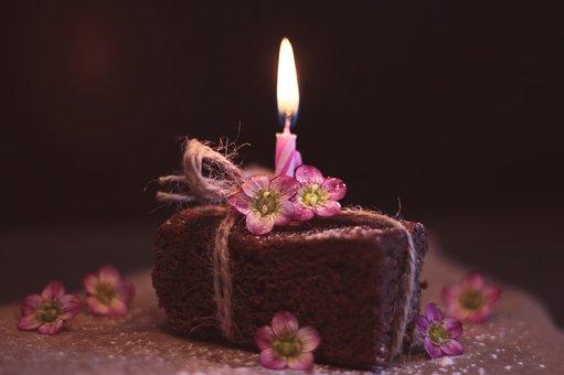 Brownie, Cake, Greeting Card, Pastries