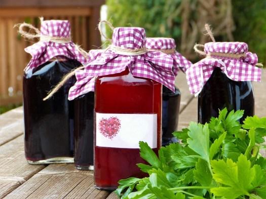 Bottiglie Di Vetro, Bottiglietta, Sciroppo, Vino, Succo