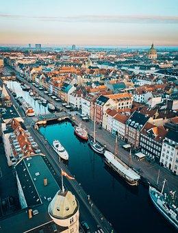 Copenhague, Danemark, L'Architecture