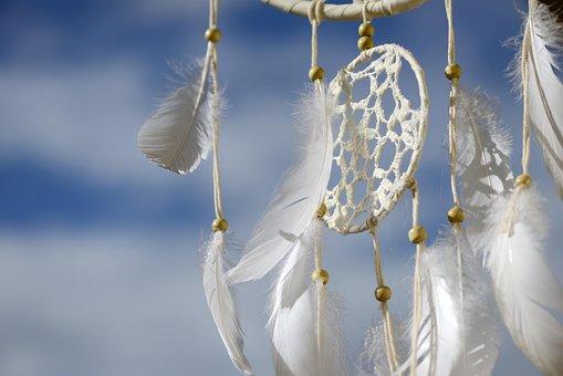 追梦人, 捕夢, 羽毛, 梦想, 印度, 文化, 自然神灵, 花边, 灵性