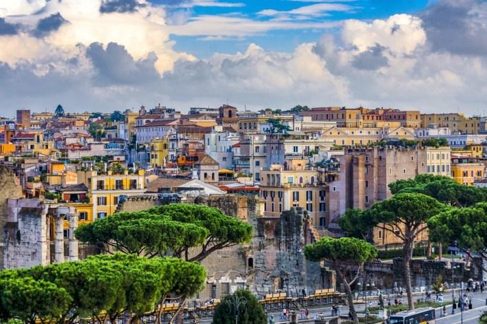 Roma, Casas, Itália, Cidade, Construção, Viagens