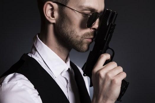 Uomo, Pistola, Gangster, Vendetta, Male, Mafia