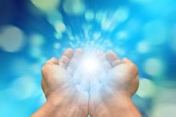 Händer, Motta, Ljus, Uppskattning, Övernaturlig
