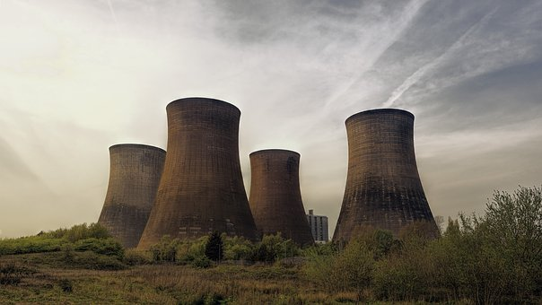 Cooling Towers, Industry, Cold, propaganda