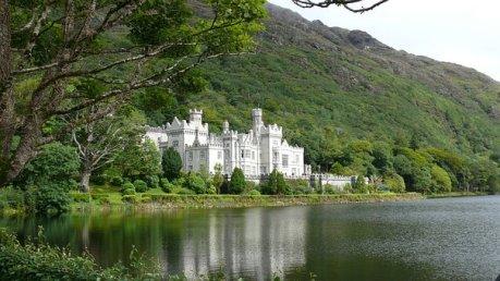 Kylemore, Abbey, Ireland, Castle