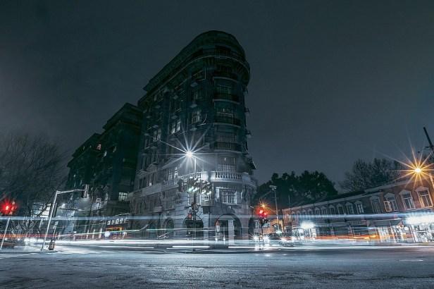 China, Shanghai, City, Night, Building, Street