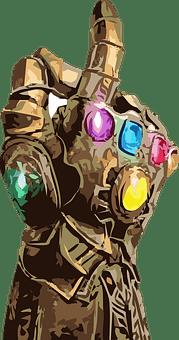 Thanos, Guante, Comic, Comics, Gauntlet