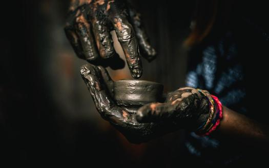 Argilla, Arte, Pentola, Ceramica, Fatto A Mano
