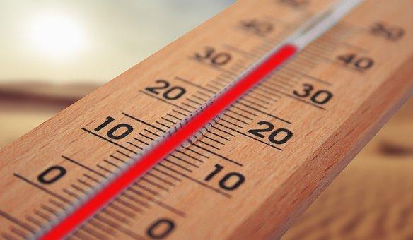 Θερμόμετρο, Καλοκαίρι, Hot, Θερμότητα
