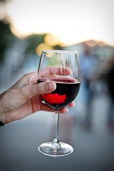ワインのガラス, 赤, ワイン, 杯, ドリンク, アルコール, ワイングラス