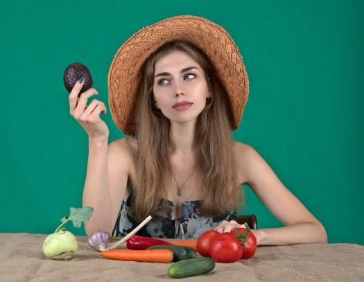 Dieta, Alimentazione Sana, Verdure, Ragazza, Donna