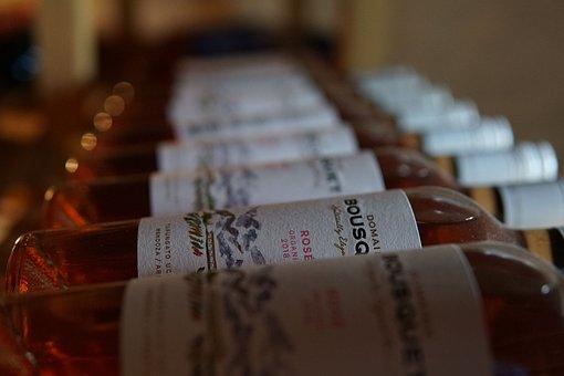 ワイン, ワインボトル, Rosevin, ボトル, Vinreol
