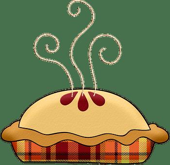Hot Pie, Steam, Apple Pie, Pumpkin Pie