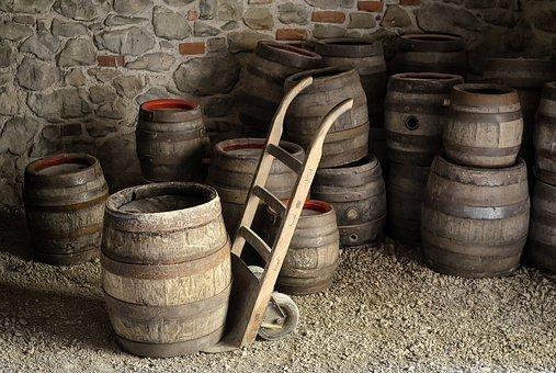 バレル, ビール, ビール醸造所, ヴィンテージ, コンテナー, 木材, 古い