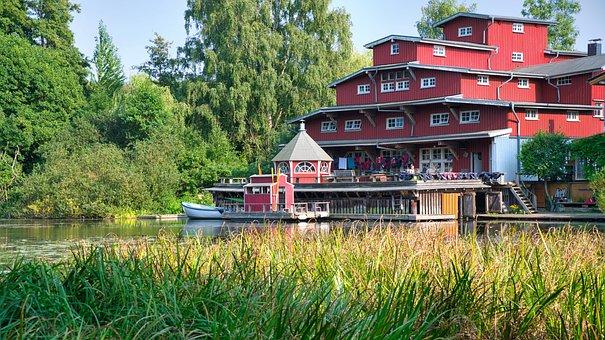 House, Boat Rental, Bank, Boat House