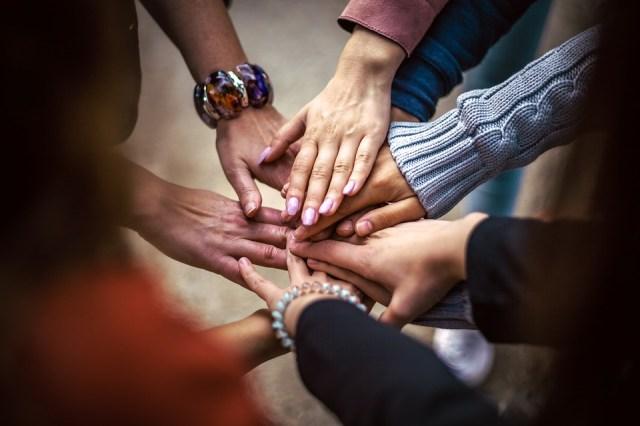 Equipe, Amizade, Grupo, Mãos, Cooperação, Pessoas
