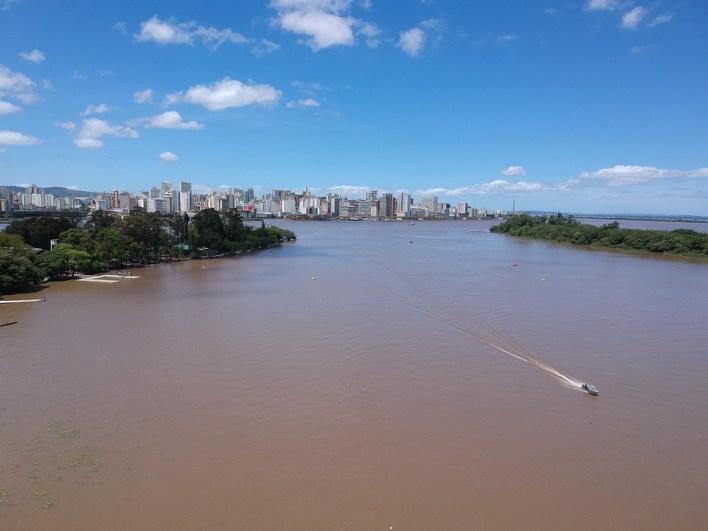 Aérea, Porto Alegre, Rio, Guaíba, Rio Grande Do Sul