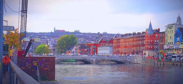 Cortiça, Cork, Irlanda, Irlanda, Cidade Portuária, Rio