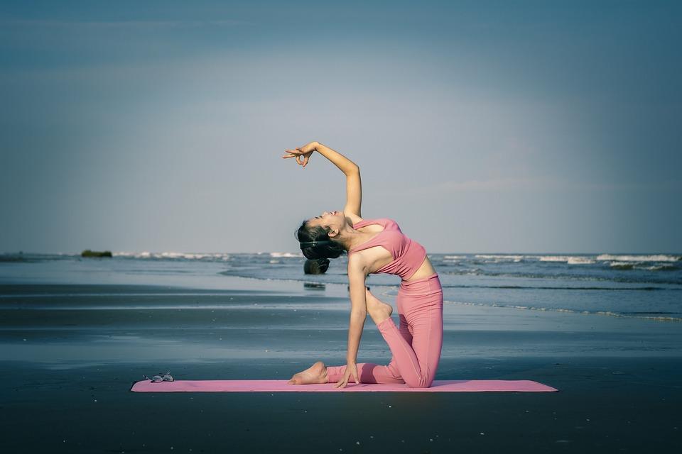 Yoga, Girl, Beautiful, Stretch, Exercise