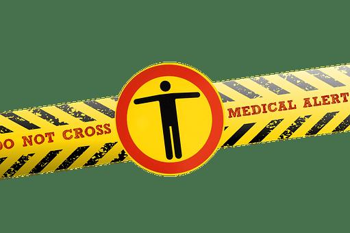 Coronavirus, Virus, Barrier Tape, Police